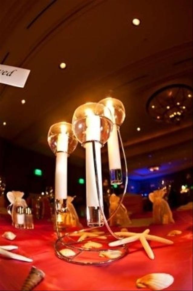 Candle centerpiece tradesy weddings