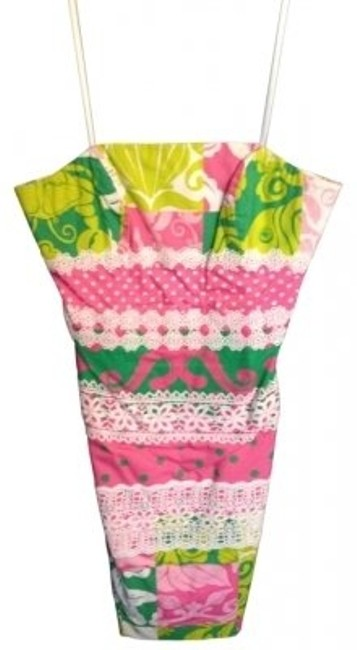Preload https://img-static.tradesy.com/item/137917/lilly-pulitzer-pink-and-green-above-knee-cocktail-dress-size-4-s-0-0-650-650.jpg