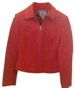 Marvin Richards Red Leather Jacket