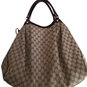 Gucci Tote in Brown/Beige