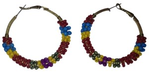 Urban Outfitters Beaded hoops