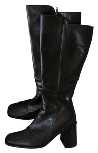 Italian Leather Dark Brown, Expresso Boots