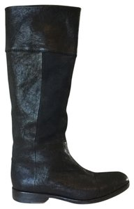 Rag & Bone Black Soft Leather Boots