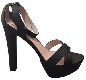 Victoria's Secret Black Platforms