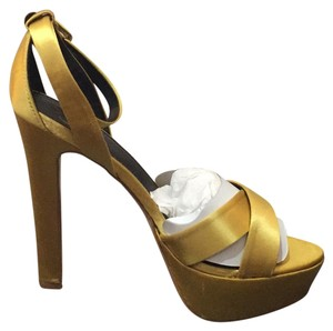Victoria's Secret yellow Platforms