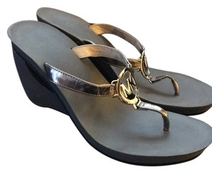 MICHAEL Michael Kors Pewter Sandals