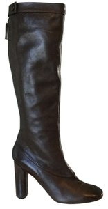 Marc Jacobs Brown Heeled Leather Brown Leather Boots