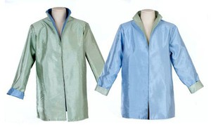 Irresistable Reversibles Reversible Silk Spring pastel blue/green Jacket