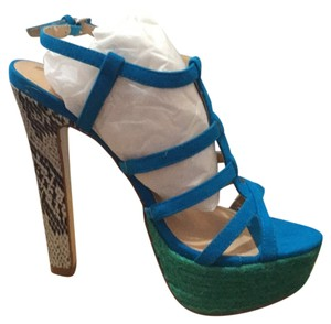 Colin Stuart Blue Platforms