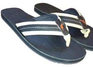 Tommy Bahama Navy with ivory trim Sandals