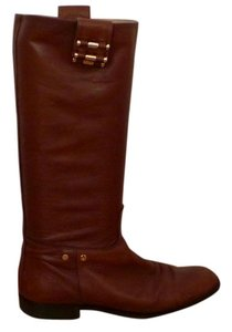 Alejandro Ingelmo Leather Studded Confortable Brown Boots
