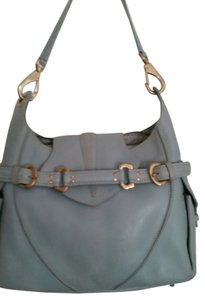 Via Spiga Leather Gold Hardware Shoulder Bag