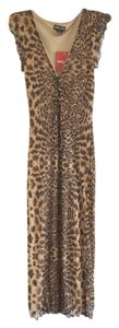 Leopard Print Maxi Dress by Guess