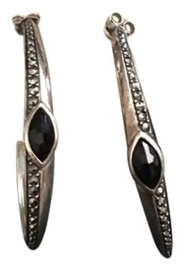 Judith Jack Embellished Hoop Earrings