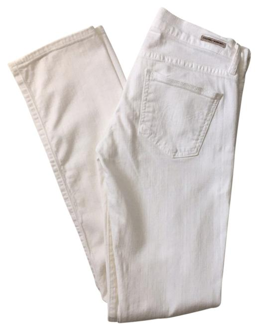 Item - White Ava Low Rise Straight Leg Jeans Size 27 (4, S)