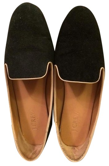 J.Crew Womens Shoes Loafers Flats #suedeloafers #blacksuedeloafers Black Suede Flats