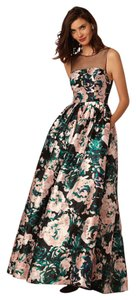 Adrianna Papell Bhldn Floral Print Ball Gown Dress