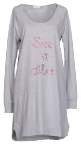 See by Chloé short dress Gray Chloe Chloe Sweatshirt Chloe Sweater Chloe Sweater on Tradesy