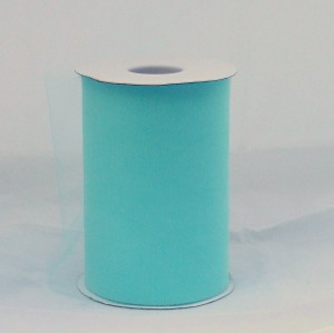 Aqua Tulle Huge Roll - 100 Yd X 6 In Aqua Tulle Spool - Tulle Roll Free Ship