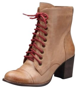 Vince Camuto Natural with Red Laces Boots