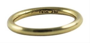 Tiffany & Co. Vintage Tiffany and Co wedding band 18k yellow gold