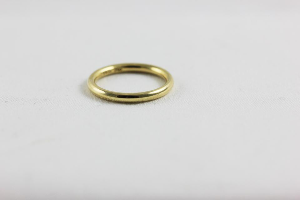 tiffany co vintage tiffany and co wedding band 18k yellow gold