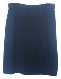 St. John Basics Santana Suit Skirt Black