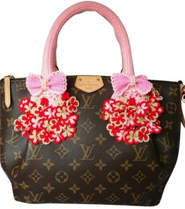 Handmade Handle Covers For Louis Vuitton Speedy Alma trouville montaigne Deauville Crochet Pink
