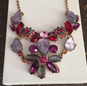 Betsey Johnson Fall Follies Floral Necklace