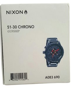 Nixon Nixon The 51-30 Chrono Gunship Mens Watch