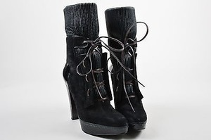 Larare Suede Leather Black Boots