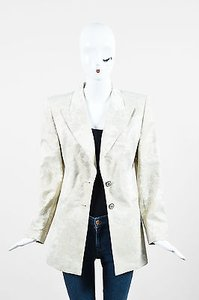 Escada Metallic Gold Jacket