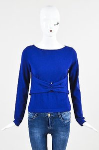 Valentino Wool Ruched Sweater