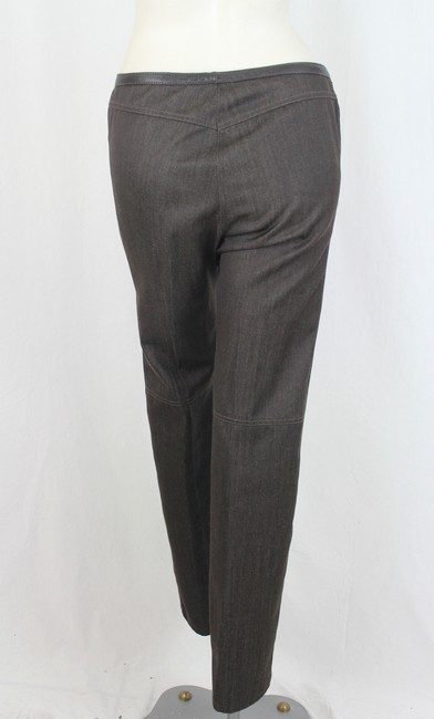DKNY Straight Pants Brown