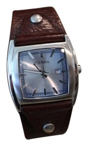 Fossil Fossil brown leather watch