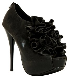 Qupid Black Pumps