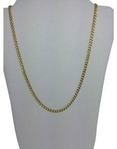 Other 14K Yellow Gold Curb Link ~2.50mm 16 inches
