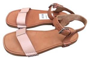Marc Jacobs Gladiator Leather Designer Light Brown Sandals