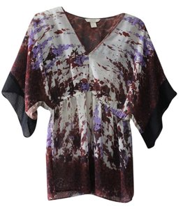 Jonathan Martin Top Black, red, purple