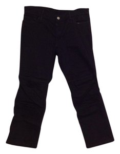 Y3 Designer Japanese Work Capri/Cropped Denim-Dark Rinse