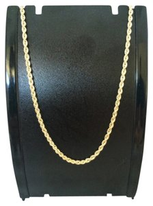Other 14K Yellow Gold Rope Chain ~2.50mm 18 inches