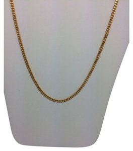 Other 18K Yellow Gold Curb Link ~2.20mm 20 Inches