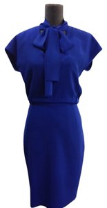 Rachel Roy Blue Knee Length Size 2 Dress