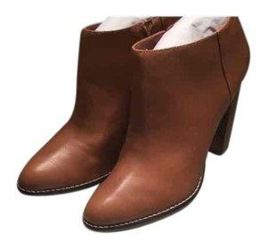 Elizabeth and James Cognac Boots