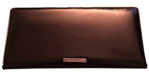 White House | Black Market Black Clutch Patent Leather