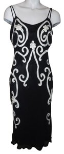 Yoana Baraschi Silk Beaded Sequins Dress