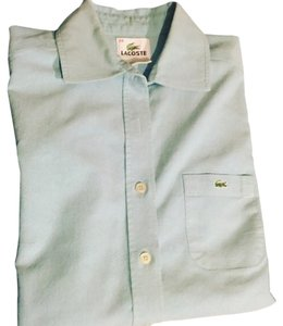 Lacoste Button Down Shirt Light blue