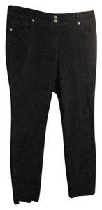 Liz Claiborne Straight Pants Black