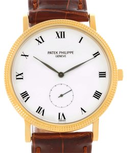Patek Philippe Patek Philippe Calatrava Hobnail Bezel 18k Yellow Gold Watch 3919