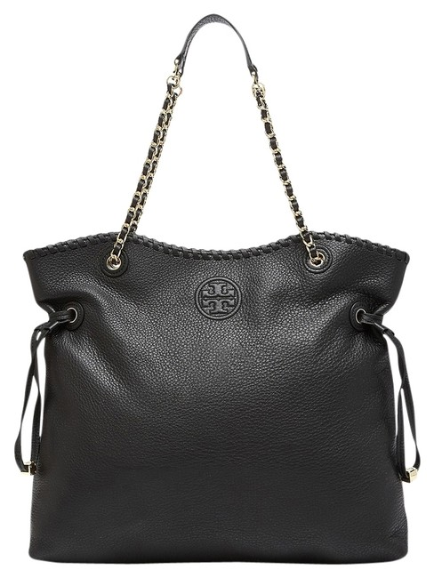 Item - Marion - Slouchy Black Leather Tote